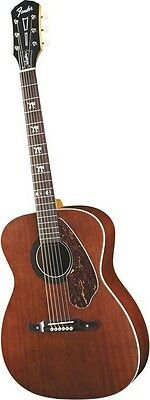 New Fender Tim Armstrong Signature Hellcat Acoustic-Electric Guitar Mahogony