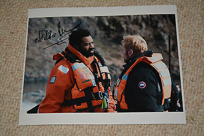 NICHOLAS PINNOCK signed Autogramm 20x25 cm In Person FORTITUDE
