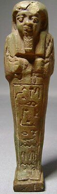 Ancient Egyptian Ushabti of Padihor Ex. Gustave Jéquier (1868-1946)