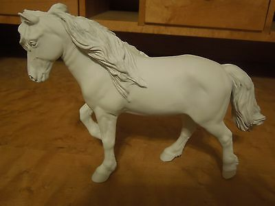 Bruno AR Artist Resin Horse by Kristina Lucas-Francis ~ New Mane, Prepped