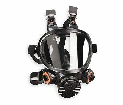 3M Full-Face Respirator Mask 7800S-M  With Filters (no box)