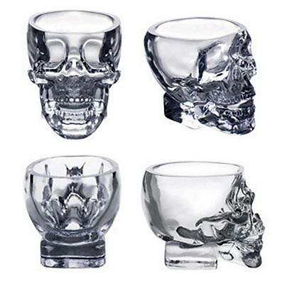 Hot Crystal Skull Head Vodka Whiskey Shot Glass Cup Drinking Ware Home Bar HH