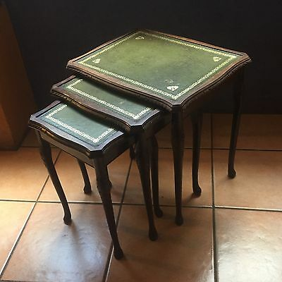 1940s Nest Of 3 Tables