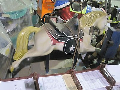 Rodeo Horse with Saddle Country Ride coin operated Kiddy Kiddie Ride Amusement
