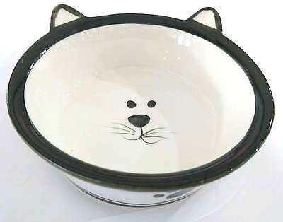 New Pet Kitten Cat Food Bowl Saucer Dish Kittens Pet Dish Red Ceramic Stone