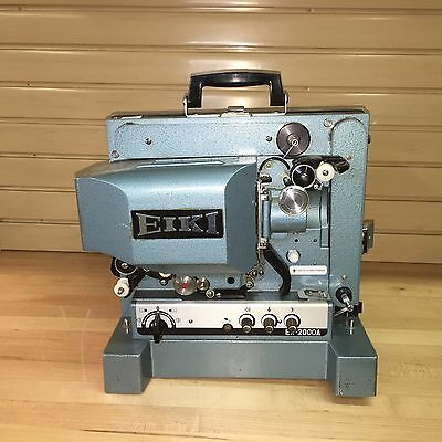 EIKI EX-2000A 16mm Movie Projector no Power Cord