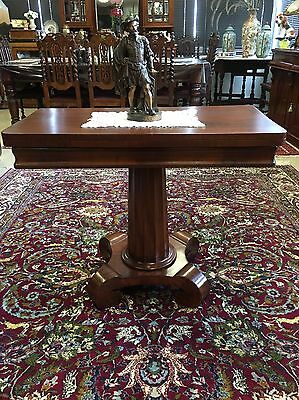 Antique William IV/Early Victorian Games Table Card Table