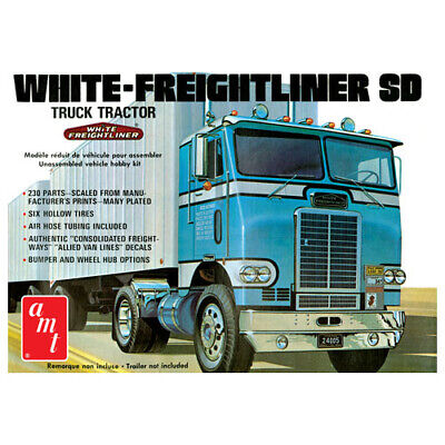 White Freightliner Single Drive Tractor #AMT1004/06 AMT