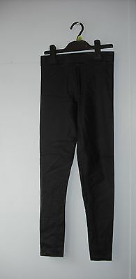 BNWT River Island 'Wet' Leather Look Jeggings. Girls.  Age 5-12 Years