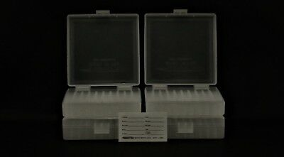 9MM / 380 (10 PACK) 100 ROUND PLASTIC STORAGE AMMO BOXES