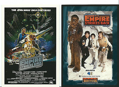 Star Wars - Empire Strikes Back - Widevision Box Topper Mini-Poster 4x6 Card 4/6