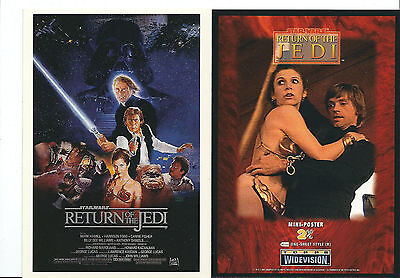 Star Wars - Return of the Jedi - Widevision Box Topper Mini-Poster 4x6 Card 2/6