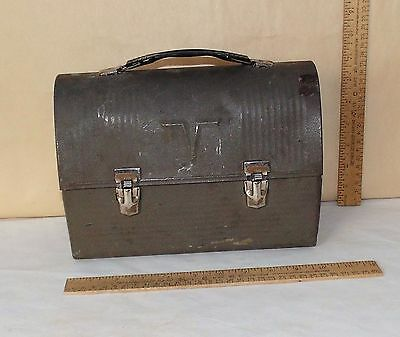THERMOS Brand LUNCHBOX - Working Man Metal Lunch Box - THE AMERICAN THERMOS