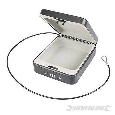 Silverline Combination Car Security Safe Box - Security Safety Lock - 869478