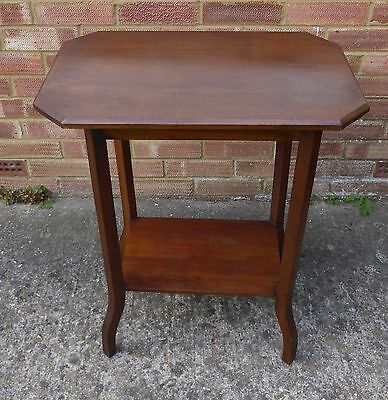 BEAUTIFUL ANTIQUE MAHOGANY 2 TIER OCCASIONAL/SIDE TABLE collect from Southampton