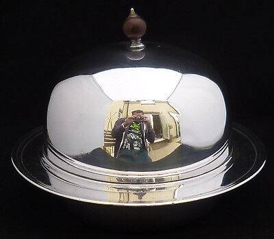 Vintage Mappin & Webb Muffin Dish / Food Warmer Hotelware Hotel