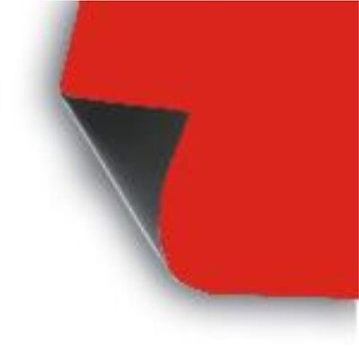 """2 x 18"""" x 12"""" Sheet flexible 30 mil Magnet Blank RED Magnetic sign car"""