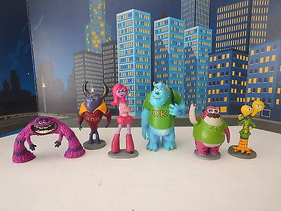 Monsters Inc And Monsters University Character Figures
