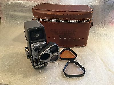 Vintage Bell and Howell 8mm Video Camera and Case