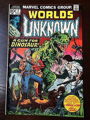 Worlds Unknown #2-#3-#4-#5 (1973) AWESOME MARVEL RARE HORROR