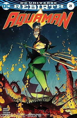 Aquaman #21 (2017) 1St Printing Middleton Variant Cover Dc Universe Rebirth