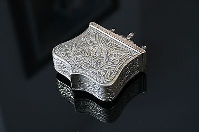 Antique greek ottoman brass Palaska cartridge box balkan caucasian turk bulgaria