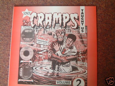 Various - Songs The Cramps Taught Us Volume 2 LP New