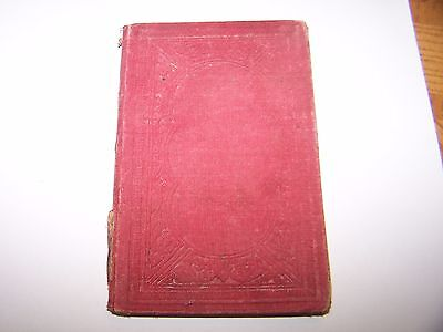 """1855 Book """"The Right and Wrong Way"""" New-York Published by Carlton & Phillips"""
