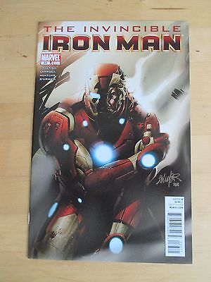 "Invincible Iron Man (2008) # 33 ""stark Resilient Finale"" By Matt Fraction"