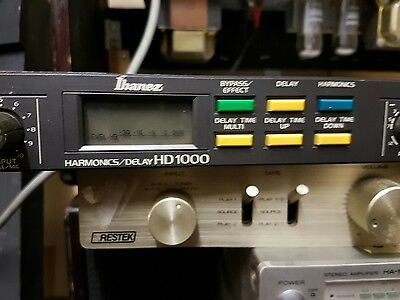 IBANEZ HD 1000 HARMONIZER / DELAY - made in JAPAN