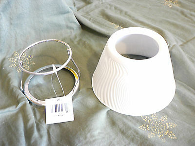 4 x Candle holders & shade. Paint your own, Christmas craft. bulk,  New