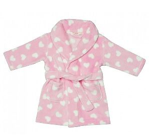 Baby Pink Dressing Gown 6-12 months