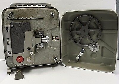 Vintage Collectible Revere 8mm Movie Camera Photos Projector Screen Model 777