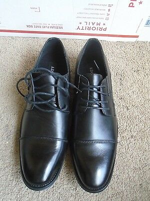New Adolfo black man made men's oxfords shoes size 9.5M