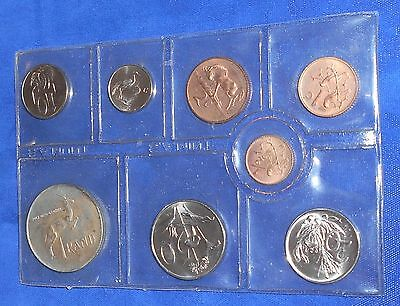 South Africa 1976 official mint set