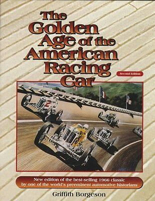 The Golden Age of American Car Racing book by Borgeson