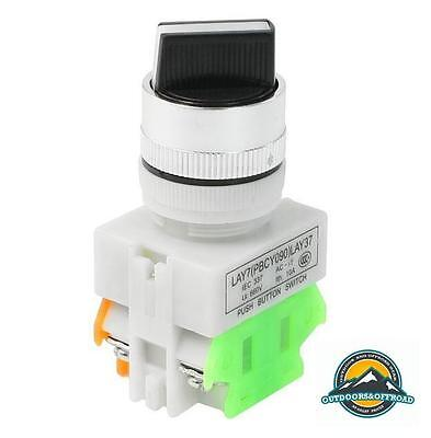 2 X 2 Position Rotary Selector Switch 22mm AC 660V 10A