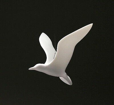 SEAGULL MOBILE Statue New direct from JOHN PERRY 14in Wings Hovering Upwing