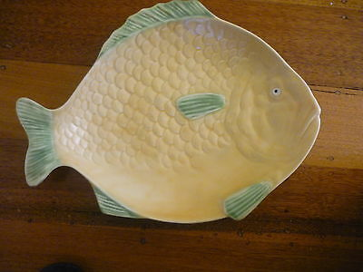 Vintage 1930's Fish Plate Iconic Shorter & Sons