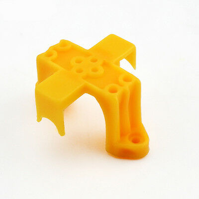 Yellow Plastic Motor Bracket Toy Fastener For SLG130 Motor Toy Car Accessories
