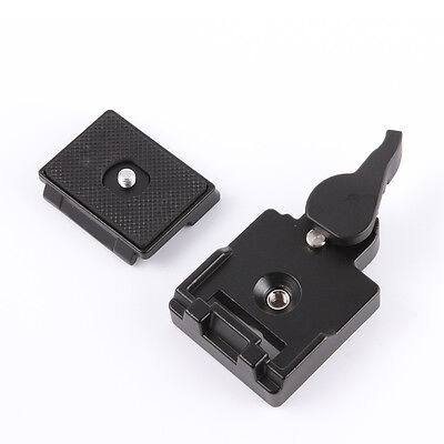 Quick Release Plate Clamp Adapter 323 RC2 System Tripod for Manfrotto 200PL-14