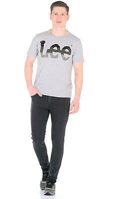 Mens Ex Lee Malone Tailor Black Skinny Stretch Fit Jeans RRP£80 (SECONDS) L144