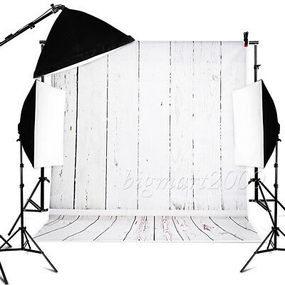 10x20ft 100% Cotton Muslin Chromakey White Screen Studio Photography Backdrop US