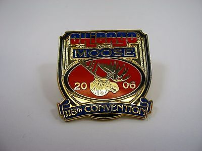 Collectible Pin: Chicago MOOSE 2006 118th Convention