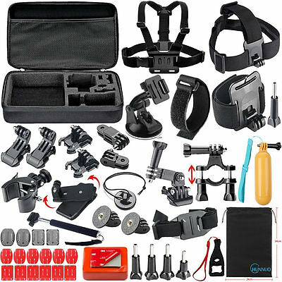 24-in-1 Accessories Kit For Pro Hero 1 2 3 4 5 Camera Head Chest Mount Monopod
