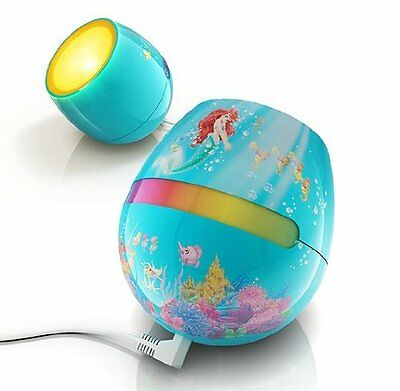 Philips Disney Ariel - Micro LivingColors LED Colour Changing Childrens Lamp