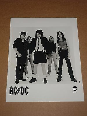 AC/DC 10 x 8 1995 EW Records Publicity Photo