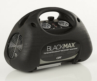 CPS TR700 BLACKMAX Refrigerant Recovery Machine, Twin Cylinder
