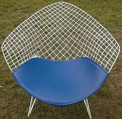 """Knoll Style Bertoia """"wider"""" half-Diamond lounge chair cushions colors available"""