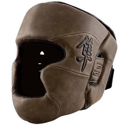 Hayabusa Kanpeki 2.0 Head Guard (Brown) - headgear boxing mma sparring